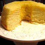 Bizcocho de limón microondas